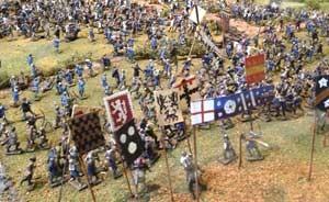 Battle of Tewkesbury diorama