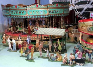 Tewkesbury Museum Fairground Model 1