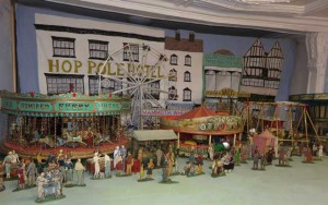 Tewkesbury Museum Fairground Model 2