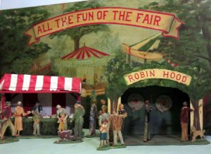 Tewkesbury Museum Fairground Model 4