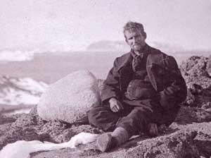 Raymond Priestley in Antarctica
