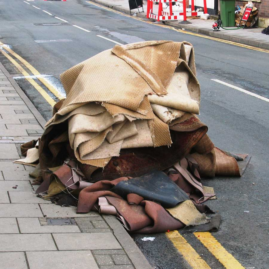 Aftermath - Church Street Tewkesbury 2007 Flood