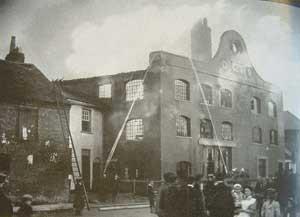 Walker's Fire in 1912