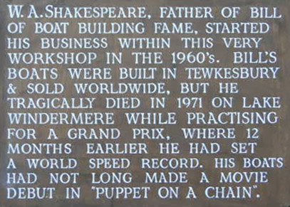 Bill Shakespeare, Bathurst And Their Band Of Boat Builders