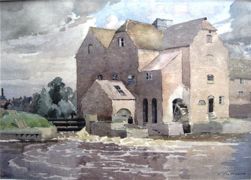 Tewkesbury Abbey Mill H Crawforth