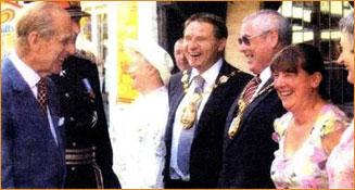 Prince Philip visit 2006
